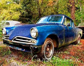 Photograph of the 1953 Studebaker Starlight the Woods
