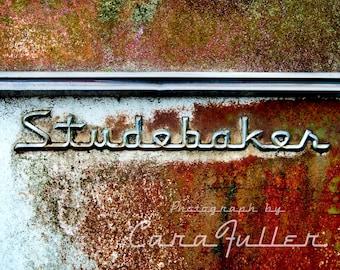 Studebaker Emblem Photograph