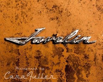 Photograph of the Javelin Emblem