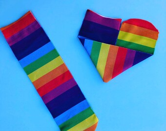 Rainbow socks. Proud aocks.LGBT socks.