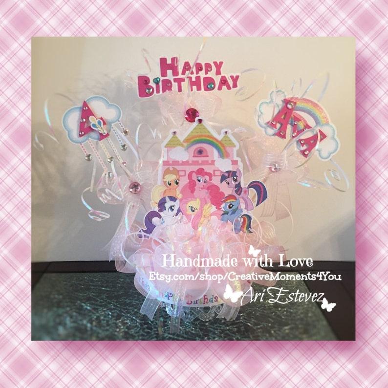 My Little Pony Castle Cake Topper