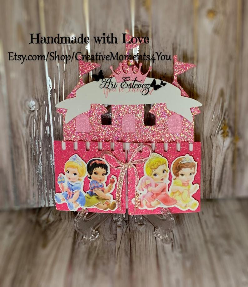 Disney Baby Princess Castle Invitation