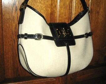 """Ralph Lauren ~ Hobo Style Shoulder Medium/Large Satchel Bag *** 13"""" X 8"""" X 3"""""""