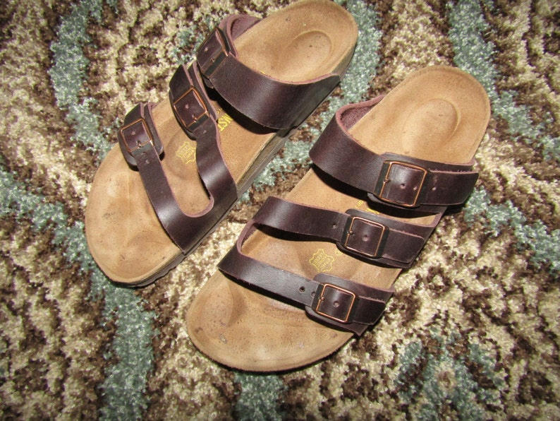 f16d67a46a5c Birkenstock Orlando Sandals Brown Leather Suede