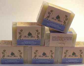 All Natural, Cold Processed soap, Unscented Soap, Vegan soap, oatmeal soap, moisturizing, dry skin, soap bar, alcohol free,