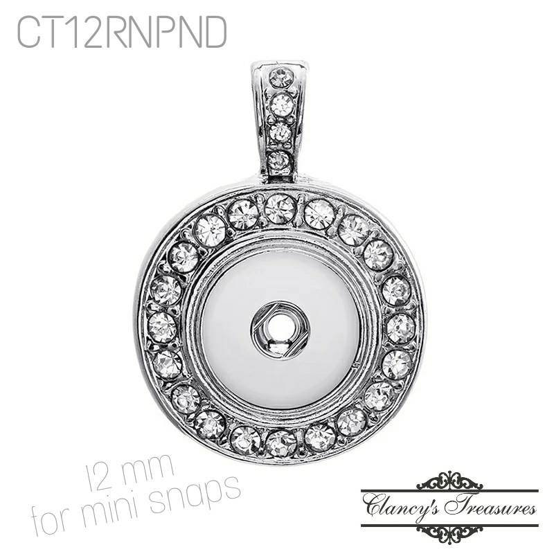 Mini Snap It Pendant Necklace For Mini//Petite Ginger Snaps Style Buttons