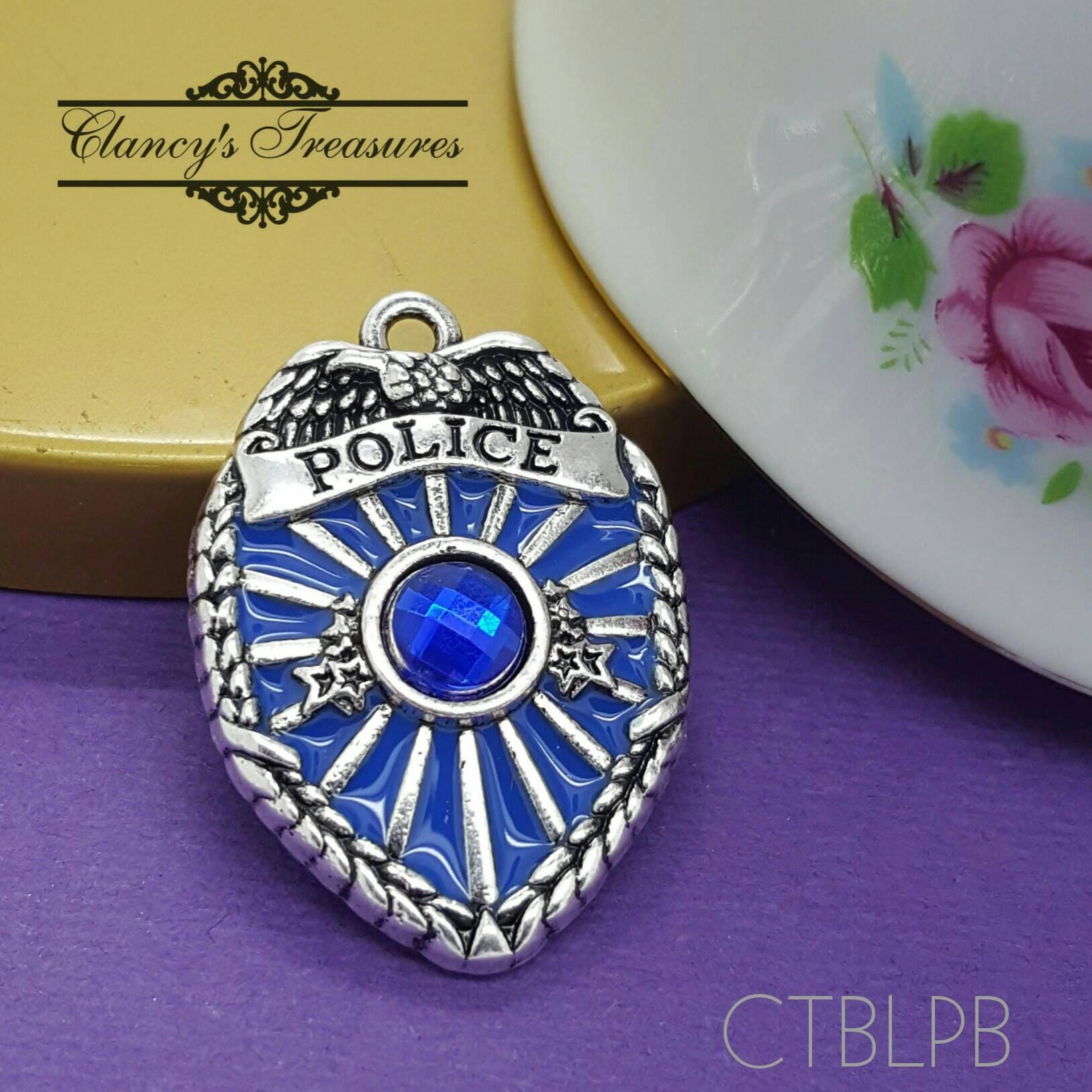 police piece warburton austin white arbor badge in ann large pendant gold