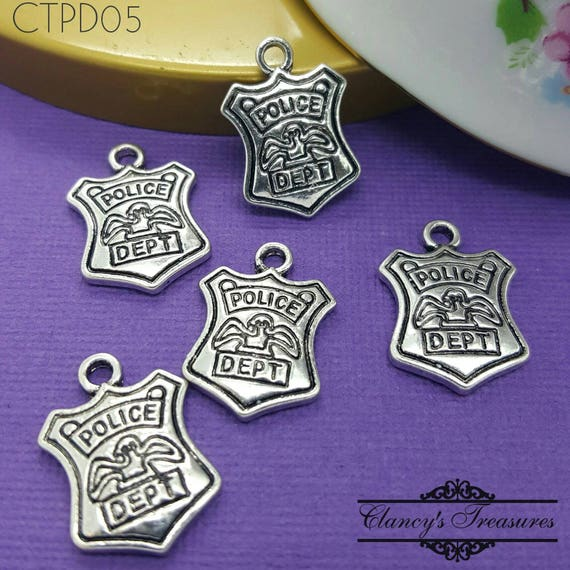Law enforcement charms