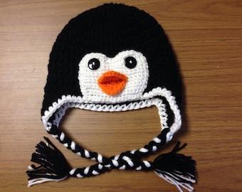 crochet baby set,baby shower gift newborn penguin Baby Penguin hat,Crochet Penguin outfit Penguin Photo prop,Penguin baby set,newborn hat