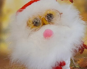 Santa Claus Hand Puppet, Chistmas PuppestSock Puppets, Kids Christmas gifts Unique X mas Gift Sock Gift
