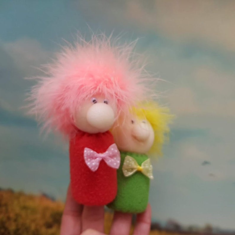 Set of Two Fingers Puppets