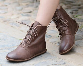womens leather boots sale
