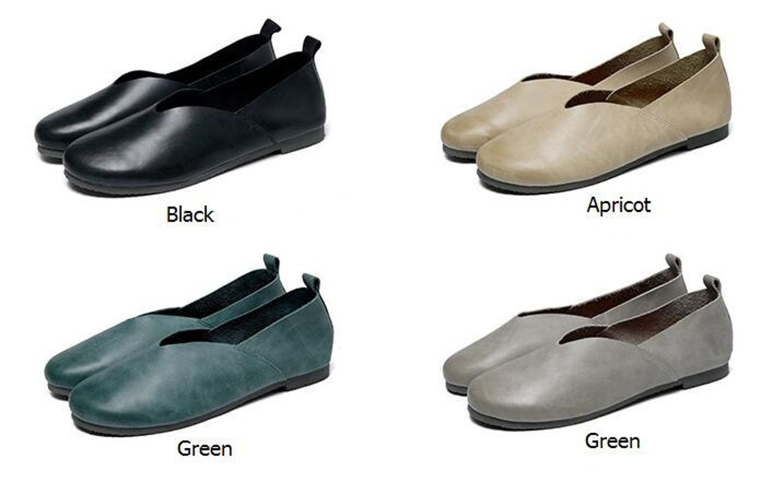 0e2c22ac9f901 4 Colors! Handmade Soft Shoes,oxford Women Shoes, Flat Shoes, Retro ...