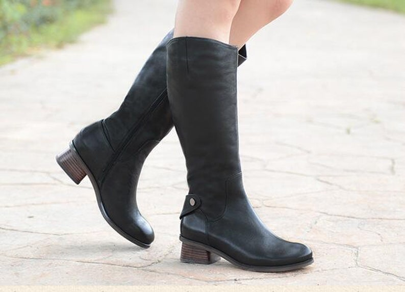 Women Oxford BootsLeather Boots Riding