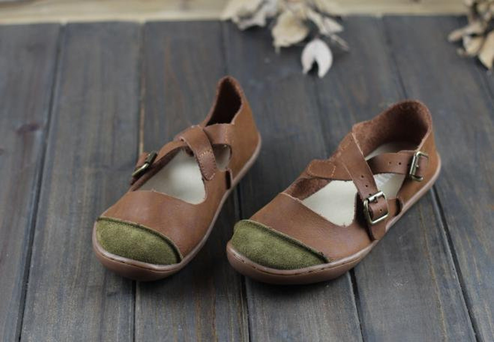 handmade women leather flat shoes,comfortable oxford shoes, retro leather shoes, slip-ons, ballet shoes, very soft