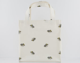 Oilcloth Tote Bag - Bumble Bee