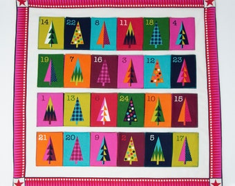 Colourful Tree Advent Calendar