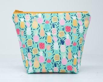 Pineapple Cosmetic Bag