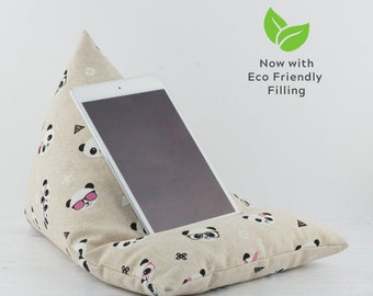 Tablet Pillow - Panda - Now with ECO Friendly Filling!