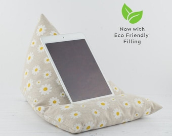 Tablet Pillow - Daisy - Now with ECO Friendly Filling!