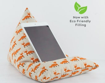 Tablet Pillow - Fox - Now with ECO Friendly Filling!