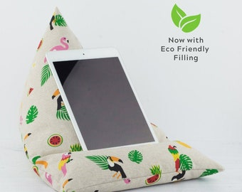Tablet Pillow - Tropical - Now with ECO Friendly Filling!
