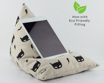Tablet Pillow - Bat Mask - Now with ECO Friendly Filling!