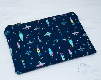 Spaceships and Rockets Pencil Case