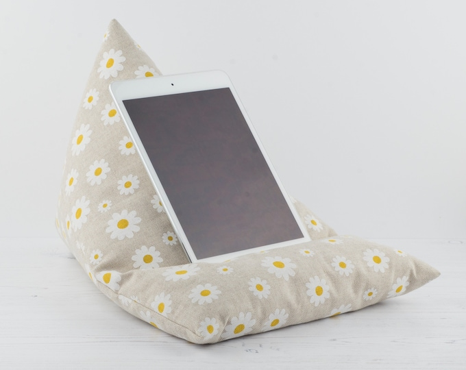 Featured listing image: Tablet Pillow - Daisy