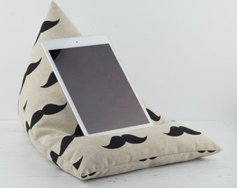 Tablet Pillow - Moustache