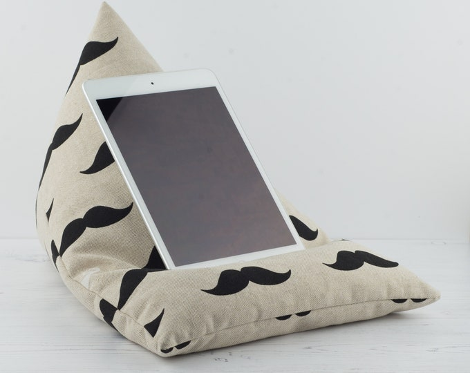 Featured listing image: Tablet Pillow - Moustache
