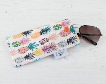 Glasses Case - Pineapple