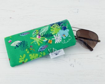 Tropical Jungle Glasses Case