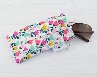 Glasses Case - Sweet Pea