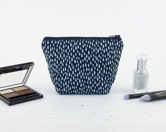 Rain Drops Mini Makeup Bag