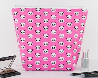 Wash Bag - Pink Panda