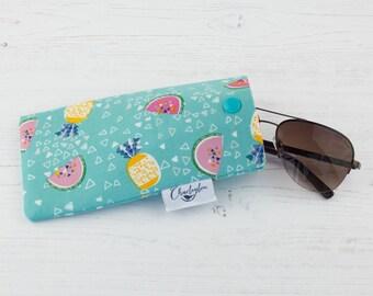 Glasses Case - Tropical Watermelon