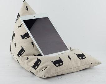 Tablet Pillow - Bat Mask