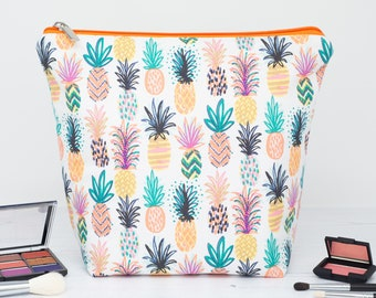 Colourful Pineapple Wash Bag
