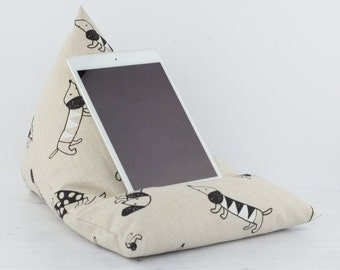 Tablet Pillow - Sausage Dog