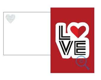 Love Red Valentine