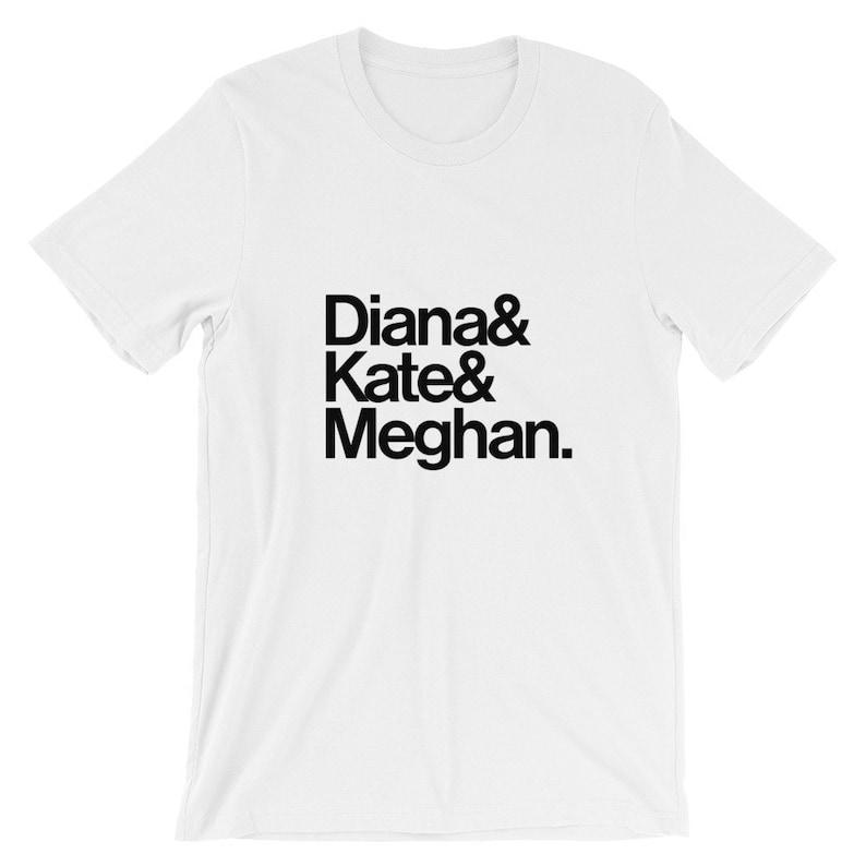 6274393a6e061 Diana, Kate, Meghan Short-Sleeve Unisex T-Shirt