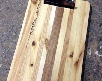 Reclaimed Pallet Wood Mini Clipboard