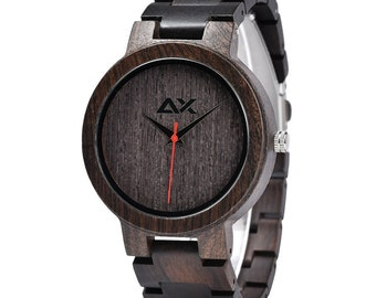 FREE ENGRAVING, Mens Wood Watch, Wooden Watch, Wooden Watch for Men, Gift for Him, Wood Watch for men, Wood Watch, Wedding Gift, Mens Watch