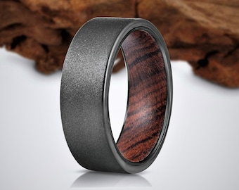 Wood Ring, Wedding Band for Men, Mens Wood Ring, wooden ring, wedding band, Wood rings for men, Mens Ring, Wedding Band for Men, Womens Ring