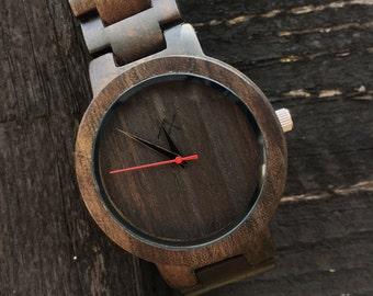 FREE ENGRAVING, Mens Wood Watch, Mens Watch, Wooden Watch for Him, Gift for Him, Mens Wooden Watch, Personalized Wood Watch, Wedding Gift
