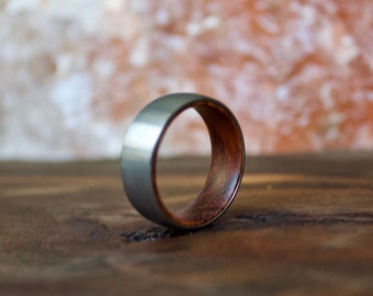 Wedding Band, Tungsten Wedding Ring, Wood Ring, wooden ring, wooden rings, Wood wedding band, Wood rings for men, Wood, Wooden Wedding Band