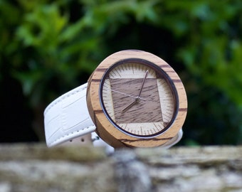 FREE ENGRAVING, Mens Wood Watch, Wooden Watch for Him, Gift for Him, Mens Wooden Watch, Engraved Wood Watch, Wedding Gift, Wooden Watch