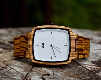 FREE ENGRAVING, Mens Watch, Wooden Watch for Men, Mens Wood Watch, Engraved Wood Watch, Wood Watch, Wooden Watch, Wood Wrist Watch