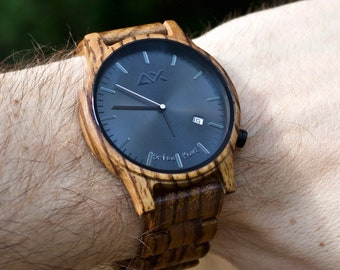 FREE ENGRAVING, Wood Watch, Mens Watch, Mens Wooden Watch, Wooden Watch, Engraved Watch, Watch for Men, Wood Watch for Men, Wood Watches